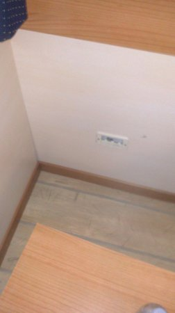 Hotel Centro Turistico Gardesano: Carencia de enchufes / No plugs