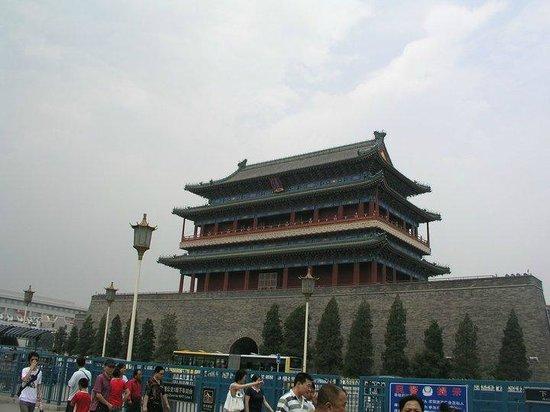 Qianmen (Zhengyangmen) : Day view.