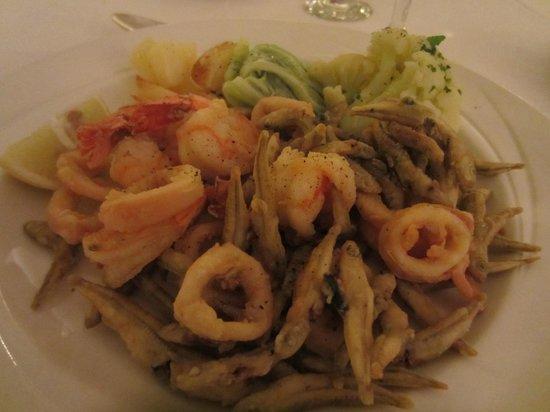 Hotel Ta' Cenc & Spa: Frittura Mista