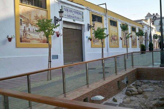 Mercado Municipal de Abastos: Mercado Municipal and archaeological dig