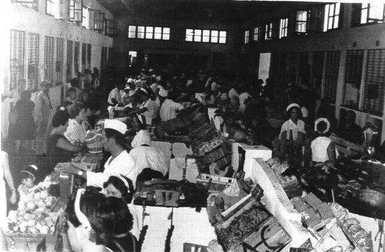 Mercado Municipal de Abastos: Times gone past - busy then