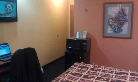 Microtel Inn & Suites by Wyndham Newport News Airport : Pic of room standing by window