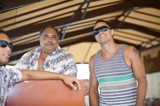 The Vaka Cruise: Vaka Cruise staff