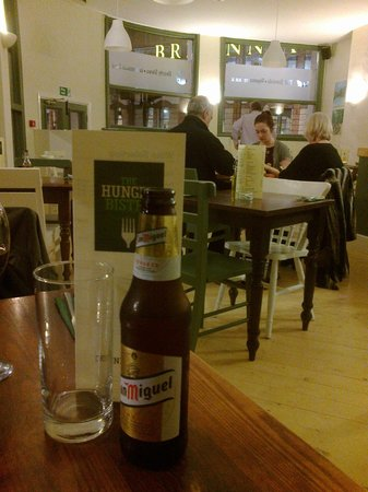 The Hungry Bistro: Drinks licence a bonus