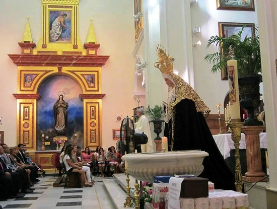 Nuestra Señora de Los Remedios: Statue of Ntra Sra de los Dolores, Nuestra Senora de Los Remedios