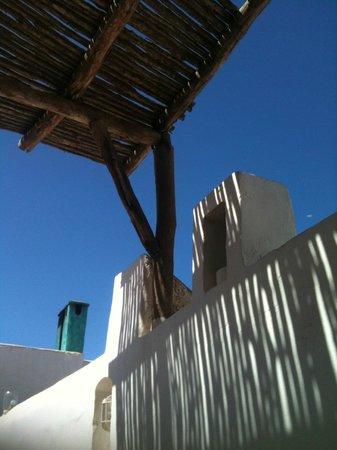 Dar Adul: vue depuis la terrasse