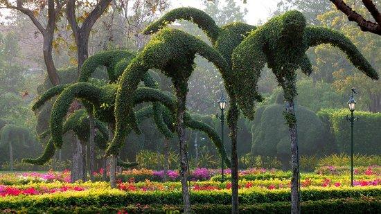 Centara Grand Beach Resort & Villas Hua Hin: Topiary birds