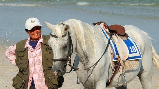 Centara Grand Beach Resort & Villas Hua Hin: One of the beach ponies