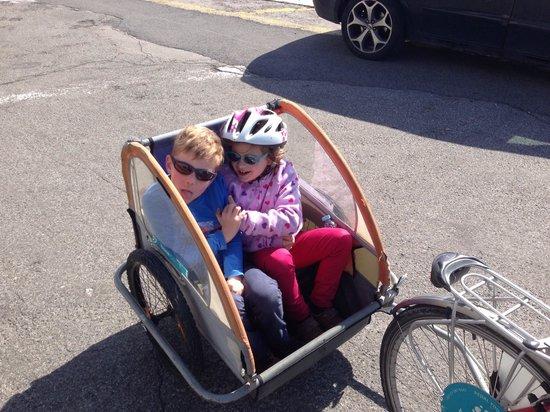 Bikeiberia: Child trailer