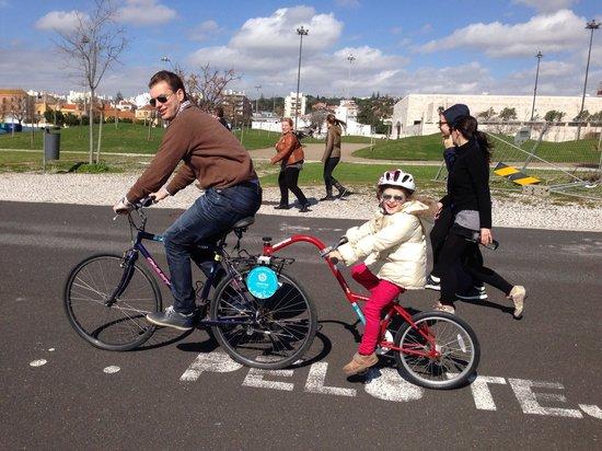 Bikeiberia: Child clip on bike