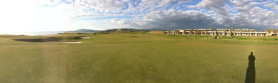 Verdura Resort: west course finishing holes panorama