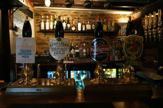 The Clanfield Tavern: 4 cask ales on tap