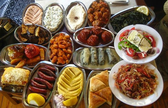 Scholarchio Restaurant : Selection of dishes