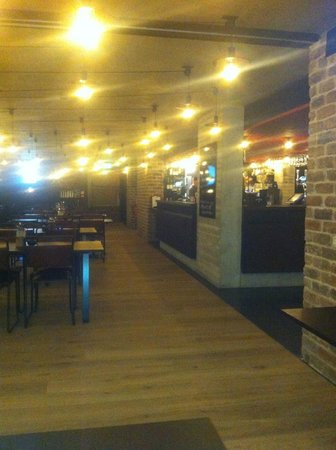 Playhouse Theatre: Great to be having a pint in the newly reopened bistro. I have spent many a happy evening here.