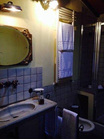 Castellare De' Noveschi: il bagno