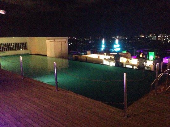 The Raintree Hotel - Anna Salai : Roof pool