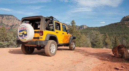 Barlow Jeep Rentals: Overlook near old cabin