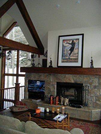 The Pines Lodge, A RockResort: Main living room/den