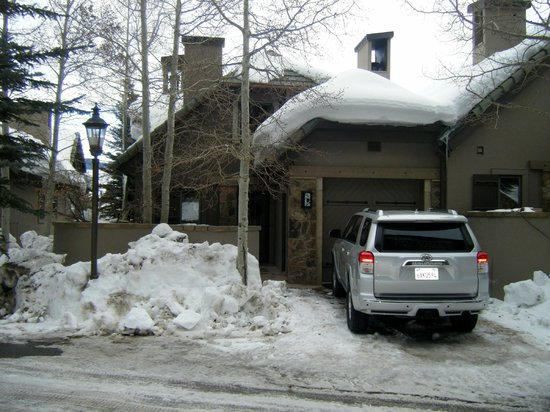 The Pines Lodge, A RockResort: Front condo entrance