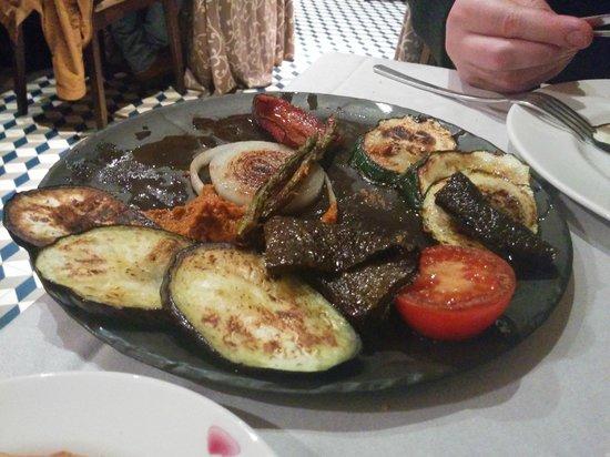 Meson Restaurante La Mi Venta : Fried vegetables