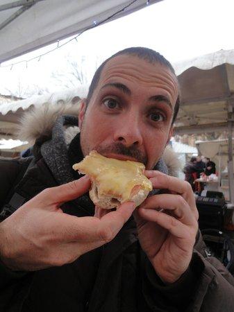 Winterfeldt Markt: La raclette