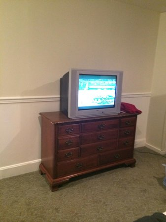 Pocono Manor Resort & Spa: TV and dresser