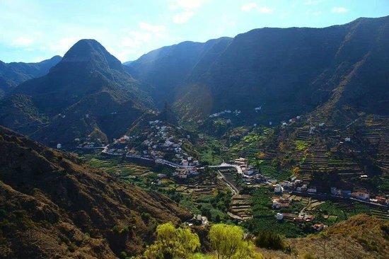 Valle de Hermigua : El Valle
