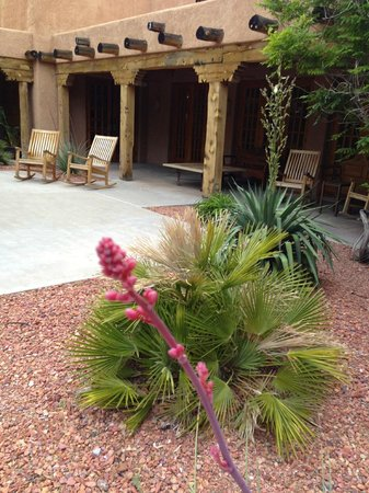 Courtyard Page at Lake Powell : Patio