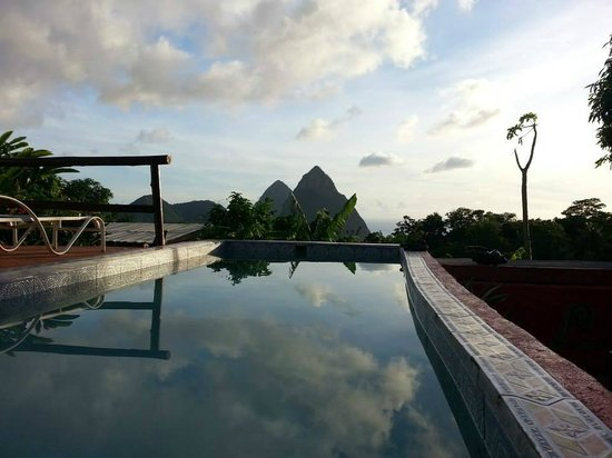 Crystals St Lucia: View from our private plunge pool