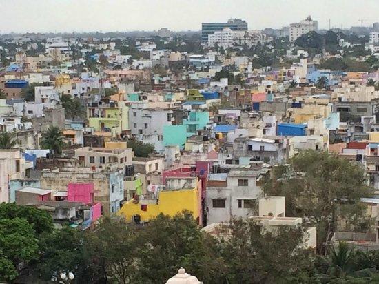 Hyatt Regency Chennai: View out the window