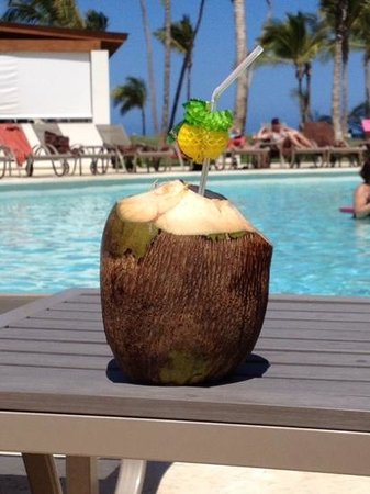 Breathless Punta Cana Resort Spa Great Coconut Drinks On The Beach