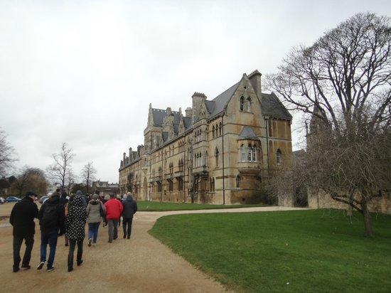 Footprints Tours Oxford: Visiting Christ Church College
