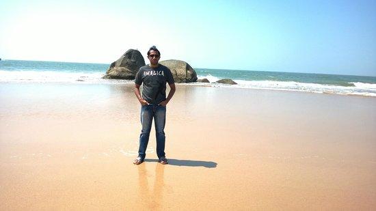 Agonda Beach: Me