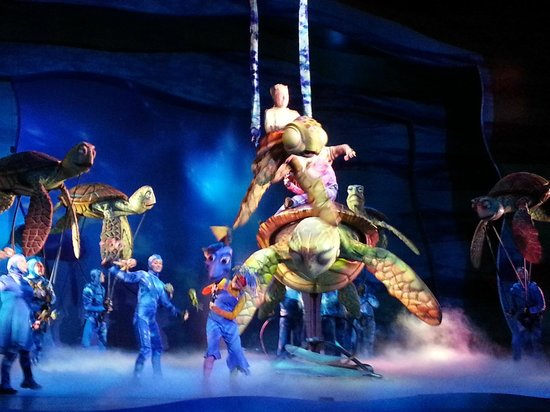Finding Nemo - The Musical: Turtles!