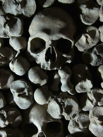 Namesti Svobody: The Ossuary under St. James' Church