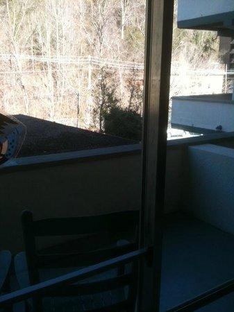 Gatlinburg Inn: balcony