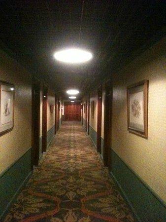 Gatlinburg Inn : hallway