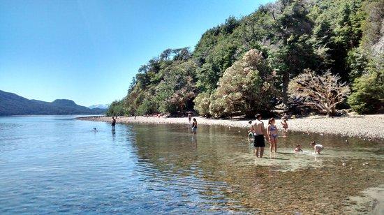 Circuito Chico: Playa de villa tacul