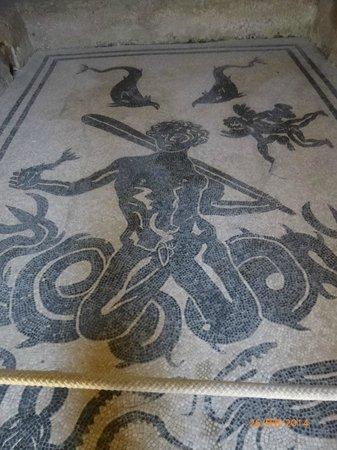 Ruins of Herculaneum: Neptune in Ladies Bath