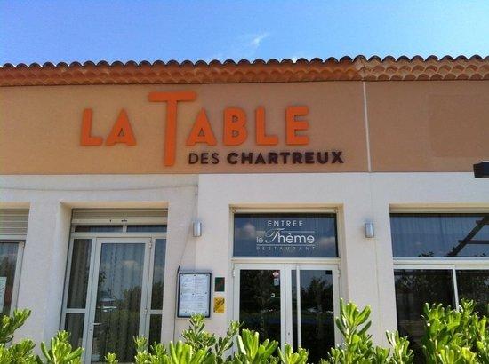Restaurant La Table Des Chartreux Pujaut