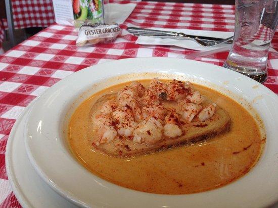 Grand Central Oyster Bar: Pan roasted shrimp