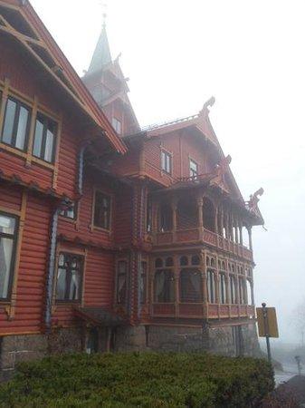 Scandic Holmenkollen Park: Hotellets fasade