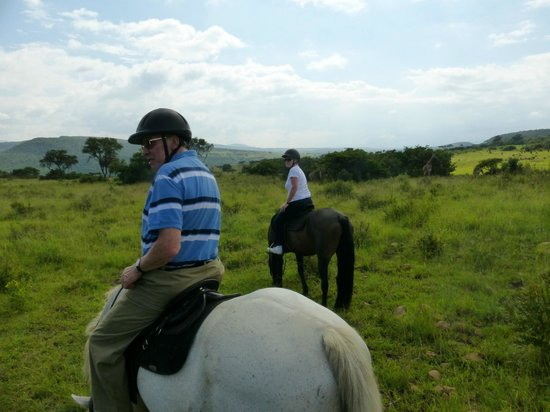 Fugitive's Drift Lodge and Guest House: Riding In The Reserve