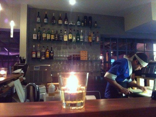 Sushi Bar Bazel: Le chef