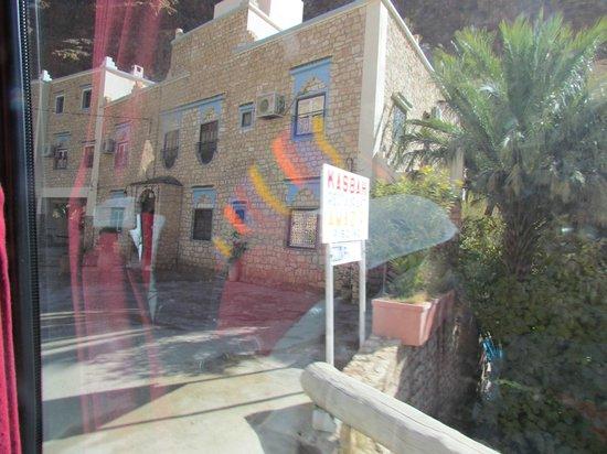 Hotel Amazir : Hotel from the street, very unassuming