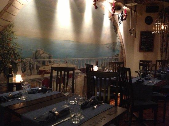 La Mandarine : Sfeervol restaurant