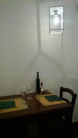 Trattoria del Corso: Table for two