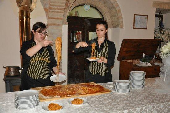 Tenuta Sant Elisabetta: The food