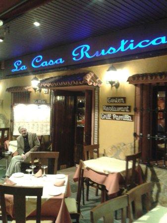 La Casa Rustica: light sign2