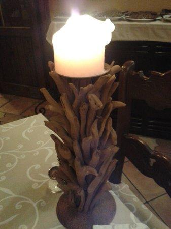 La Casa Rustica: snazzy candle